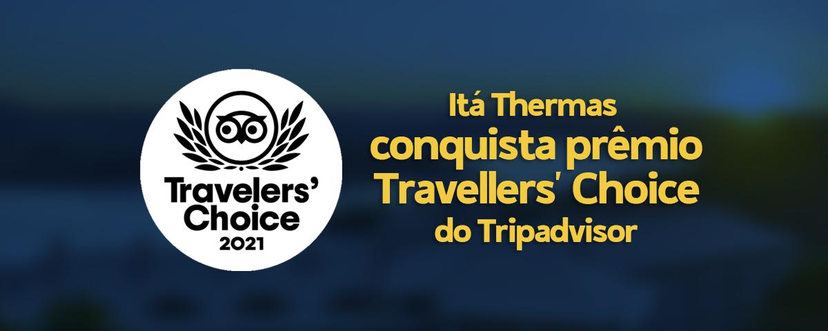 Itá Thermas conquista prêmio Travellers' Choice do Tripadvisor